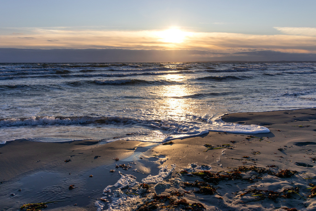 Strand in Damp | Sonnenaufgang am Strand in Damp