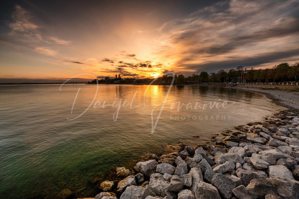 Sonnenuntergang | Sonnenuntergang in Friedrichshafen