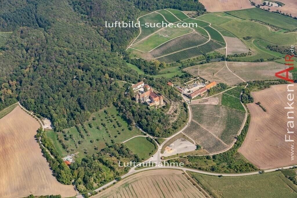 schloss-frankenberg-19-811 | aktuelles Luftbild von Schloss  Frankenberg - Luftaufnahme wurde 2019 von https://frankenair.de mittels Flugzeug (keine Drohne) erstellt.