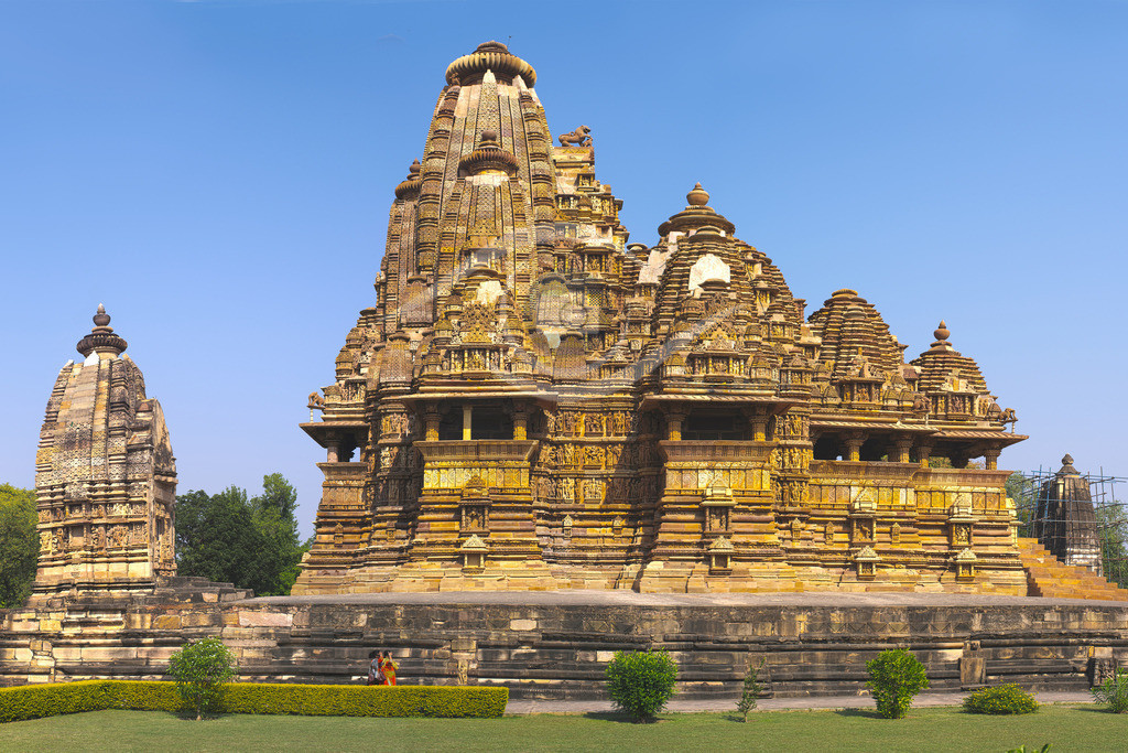 Indien_Tempelbezirk von Khajuraho 01