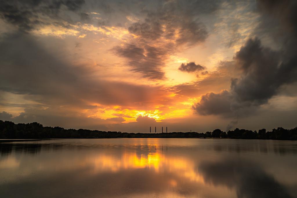 Sunrise am See