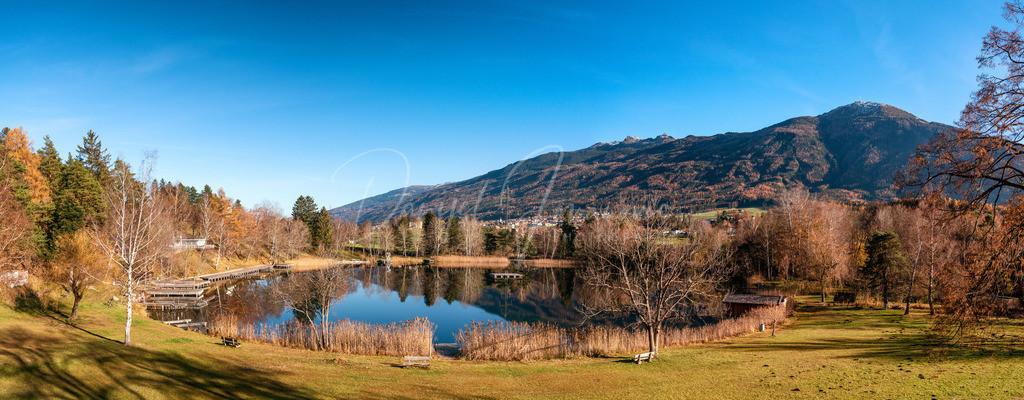 Lanser See | Panorama vom Lanser See mit Patscherkofel