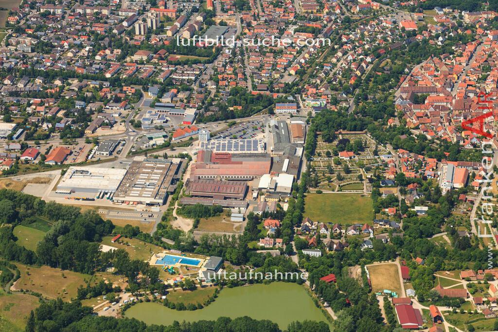 aisch-bad-windsheim-2015-1402 | Luftbild von Aisch Bad-windsheim - Luftaufnahme wurde 2015 von https://frankenair.de mittels Flugzeug (keine Drohne) erstellt - die Geschenkidee