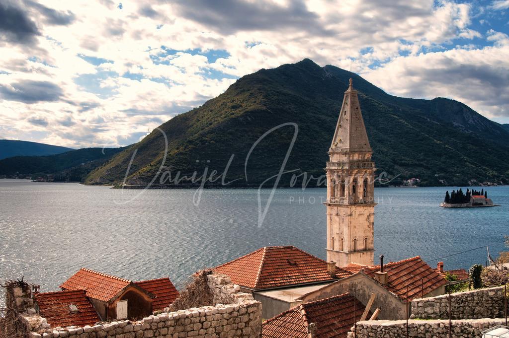 Perast | Perast in der Bucht von Kotor