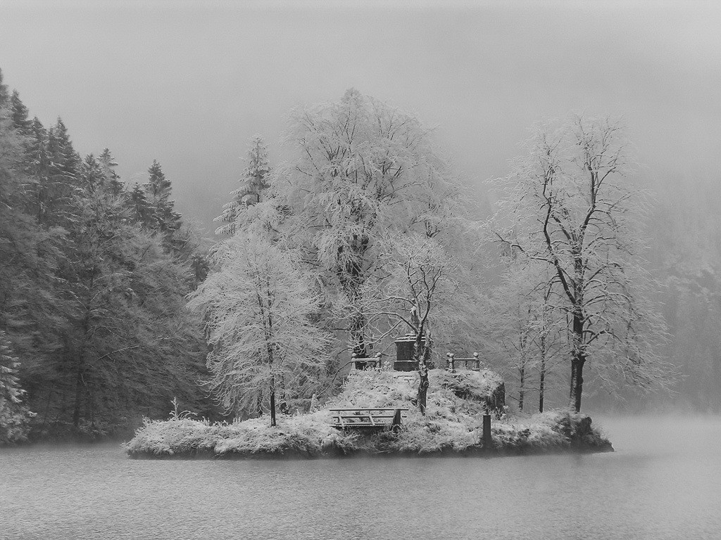 Insel im Königssee | MINOLTA DIGITAL CAMERA