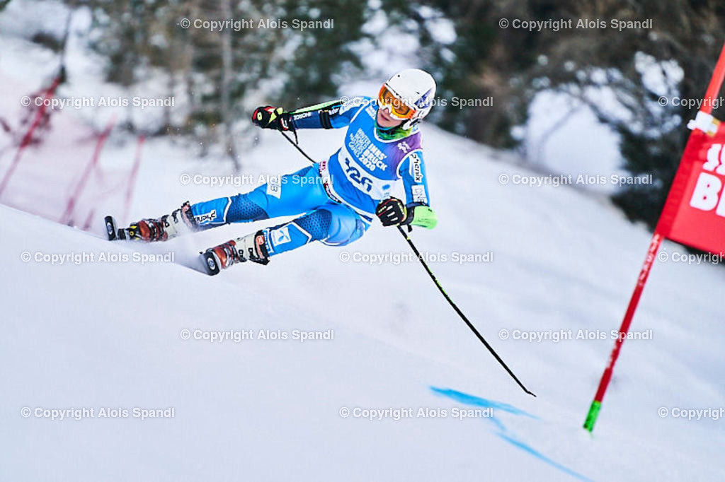 ALS5811_WWMG_GS-II_C | (C) FotoLois.com, Alois Spandl, WinterWorldMastersGames 2020 Innsbruck, Giant Slalom-II Gruppe C Damen, Patscherkofel Olympiaabfahrt, Mi 15. Jänner 2020.