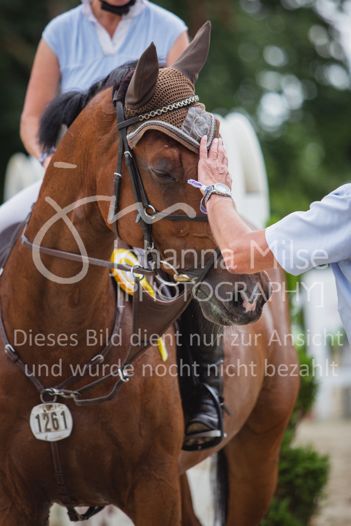 200821_Delbrück_Youngster-M-649 | Delbrück Masters 2020 Springprüfung Kl. M* Youngster Springen 6-8jährige Pferde