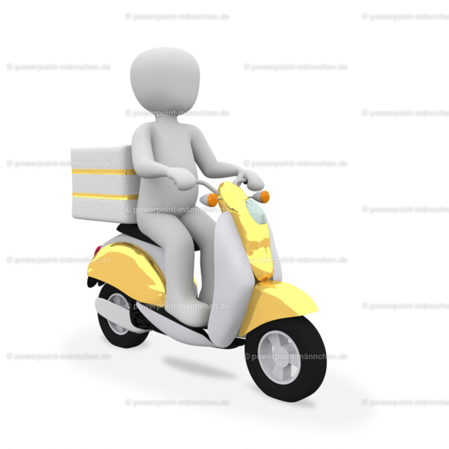delivering guy riding a motorcycle | https://3dman.eu jetzt 250 Bilder gratis sichern