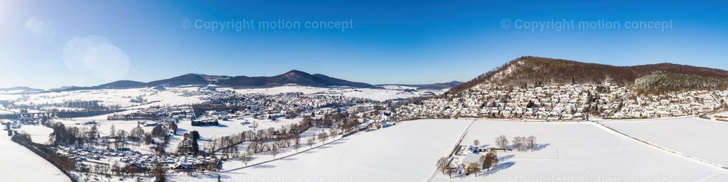 Panorama_Zierenberg vom Dörnberg_4zu1