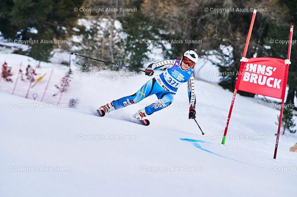 ALS5503_WWMG_GS-II_C | (C) FotoLois.com, Alois Spandl, WinterWorldMastersGames 2020 Innsbruck, Giant Slalom-II Gruppe C Damen, Patscherkofel Olympiaabfahrt, Mi 15. Jänner 2020.