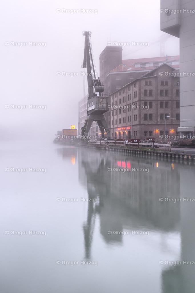 Hafen im Nebel | Münster am frühen Morgen in toller Nebelstimmung