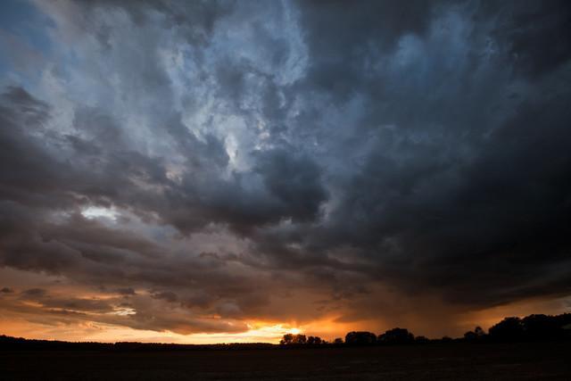 Himmelsdramatik über Jeßnigk