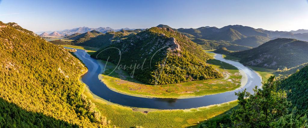 Rijeka Crnojevica | Der Fluß Crnojevica unweit des Skadar Sees