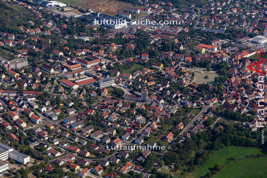 scheinfeld-19-766 | aktuelles Luftbild von  Scheinfeld - Luftaufnahme wurde 2019 von https://frankenair.de mittels Flugzeug (keine Drohne) erstellt.