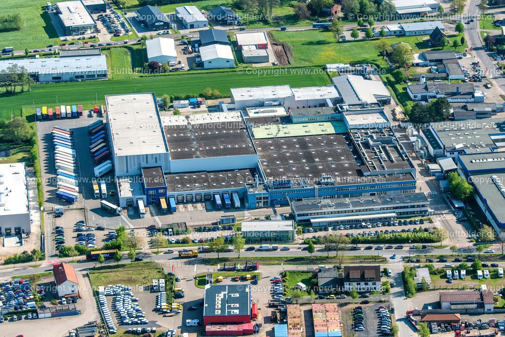 Buxtehude Unilever_ELS_7582020518 | Buxtehude - Aufnahmedatum: 02.05.2018, Aufnahmehöhe: 377 m, Koordinaten: N53°27.448' - E9°42.419', Bildgröße: 6885 x  4590 Pixel - Copyright 2018 by Martin Elsen, Kontakt: Tel.: +49 157 74581206, E-Mail: info@schoenes-foto.de  Schlagwörter:Niedersachsen,Luftbild, Luftbilder, Deutschland