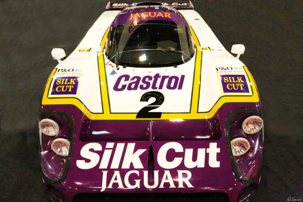 1988 Jaguar XJR-9 Le Mans front | Photo of a 1988 Jaguar XJR-9 Le Mans