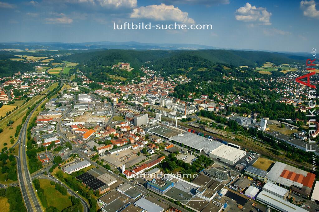 luftaufnahme-kulmbach-2008-530 | Luftbild von  Kulmbach - Luftaufnahme wurde 2008 von https://frankenair.de mittels Flugzeug (keine Drohne) erstellt - die Geschenkidee