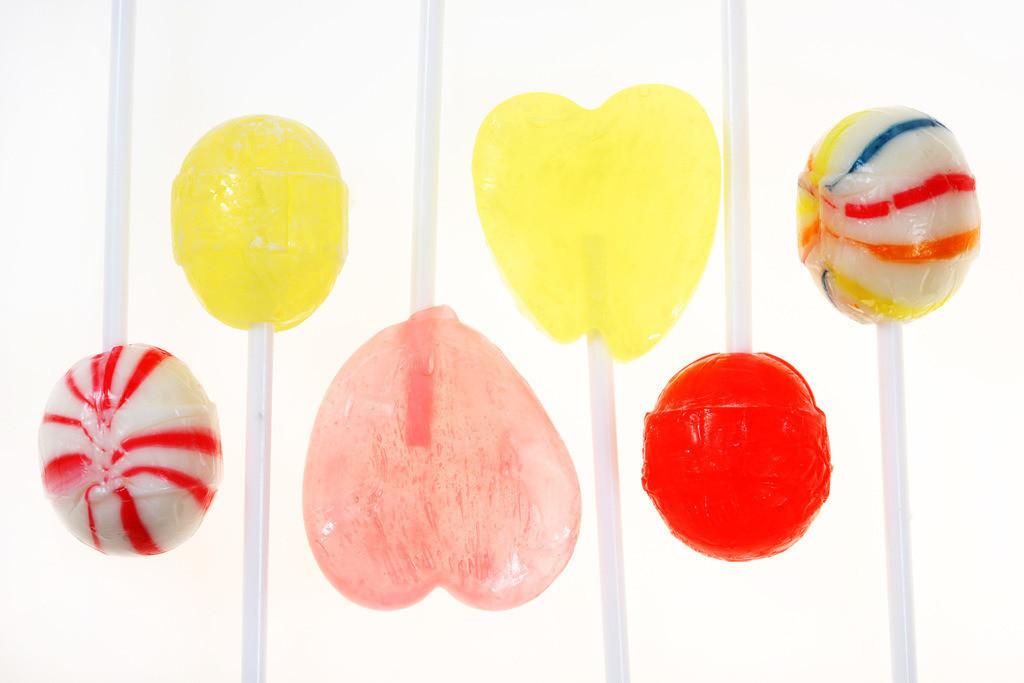Suessigkeiten   Süssigkeiten, Lutscher, Lolly, Herzform,