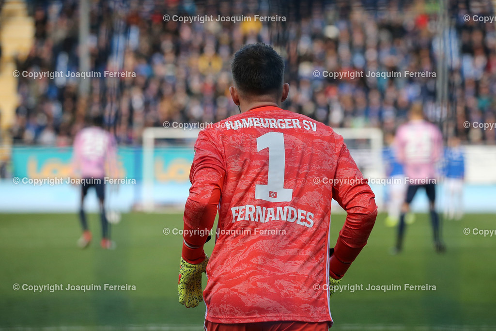 191221svdvshsv_0333 | 21.12.2019 Fussball 2.Bundesliga, SV Darmstadt 98-Hamburger SV emspor, despor  v.l.,  Goalkeeper, Torwart Daniel Heuer Fernandes (Hamburger SV)    (DFL/DFB REGULATIONS PROHIBIT ANY USE OF PHOTOGRAPHS as IMAGE SEQUENCES and/or QUASI-VIDEO)