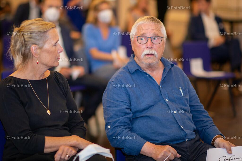 Wolf Biermann in der Staatsbibliothek zu Berlin | Wolf Biermann und Ehefrau Pamela