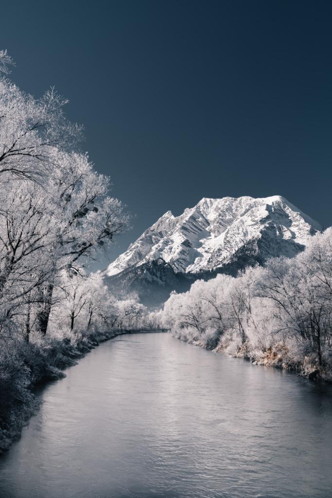 Frostiger Bergblick | Enns - Grimming