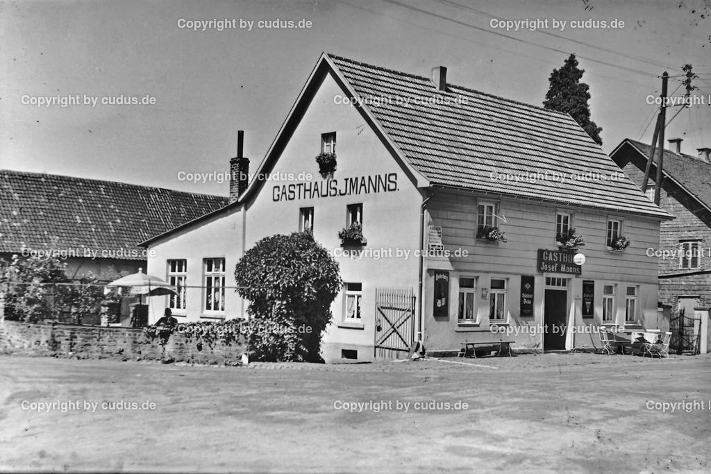 Asbach Hauptstrasse Gasthaus Manns 1948_1