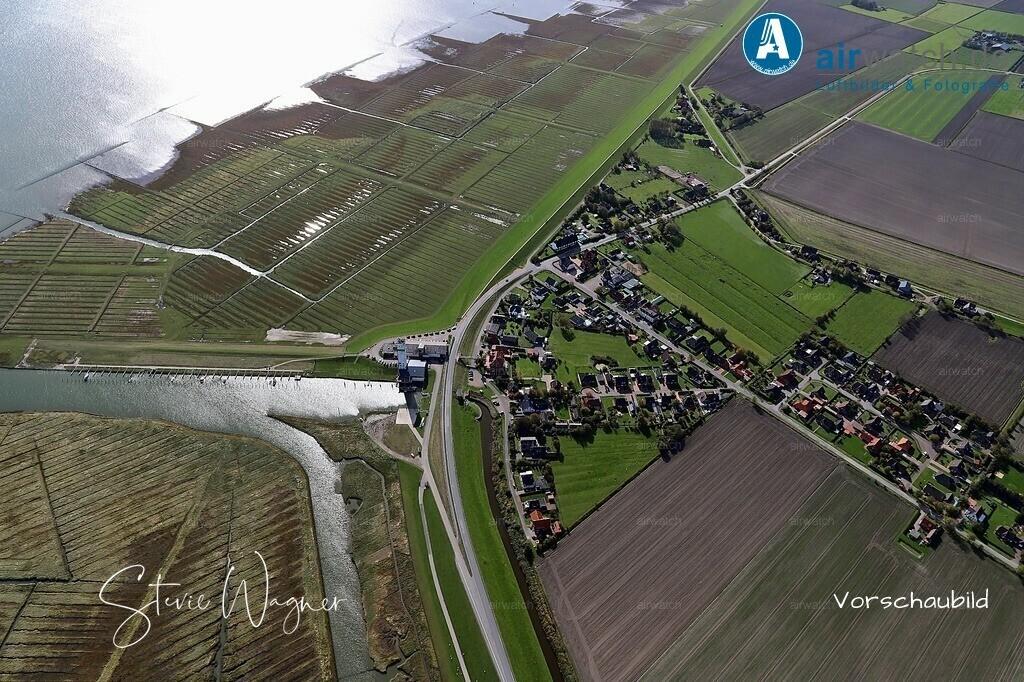 Luftbild Nordsee, Nordstrand, Suederhafen | Nordsee, Nordstrand, Suederhafen • max. 6240 x 4160 pix - Luftbild, Luftaufnahme, aerophoto, Luftbildfotografie, Luftbilder