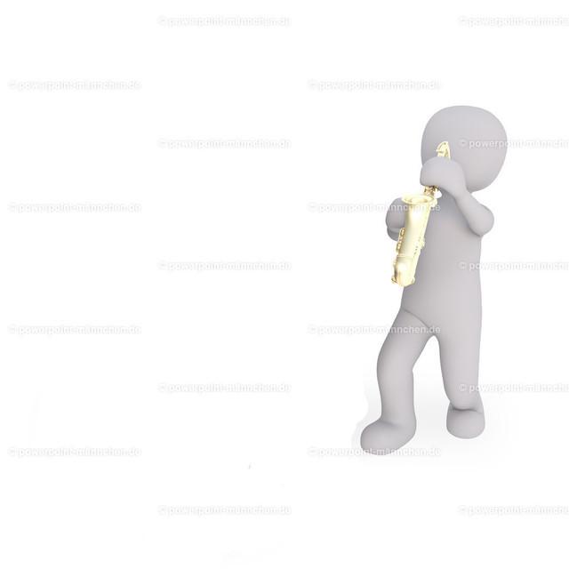 a man is playing saxophone | Quelle: https://3dman.eu   Jetzt 250 Bilder kostenlos sichern