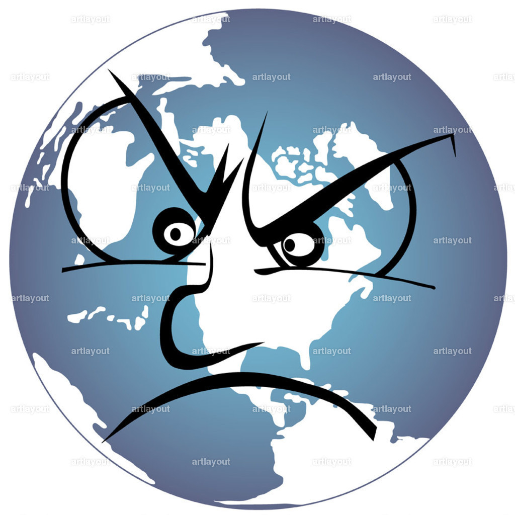 earth very angry