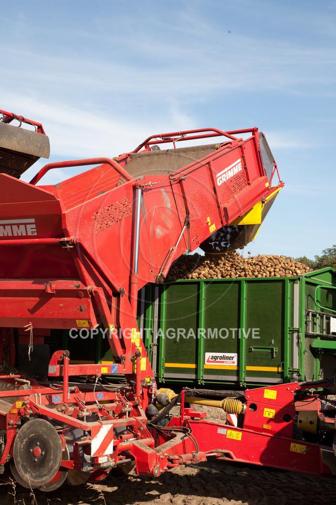 20110929-IMG_6117 | Ernte auf einem Kartoffelfeld - AGRARBILDER