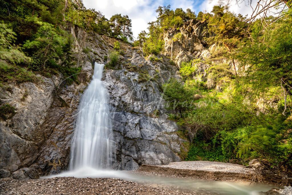 Stamser Wasserfall | Der Stamser Wasserfall im Frühling