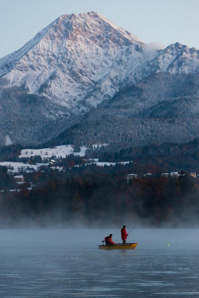 Faaker See in Kärnten | Aufnahme vom Faaker See in der Nähe von Villach in Kärnten / Österreich