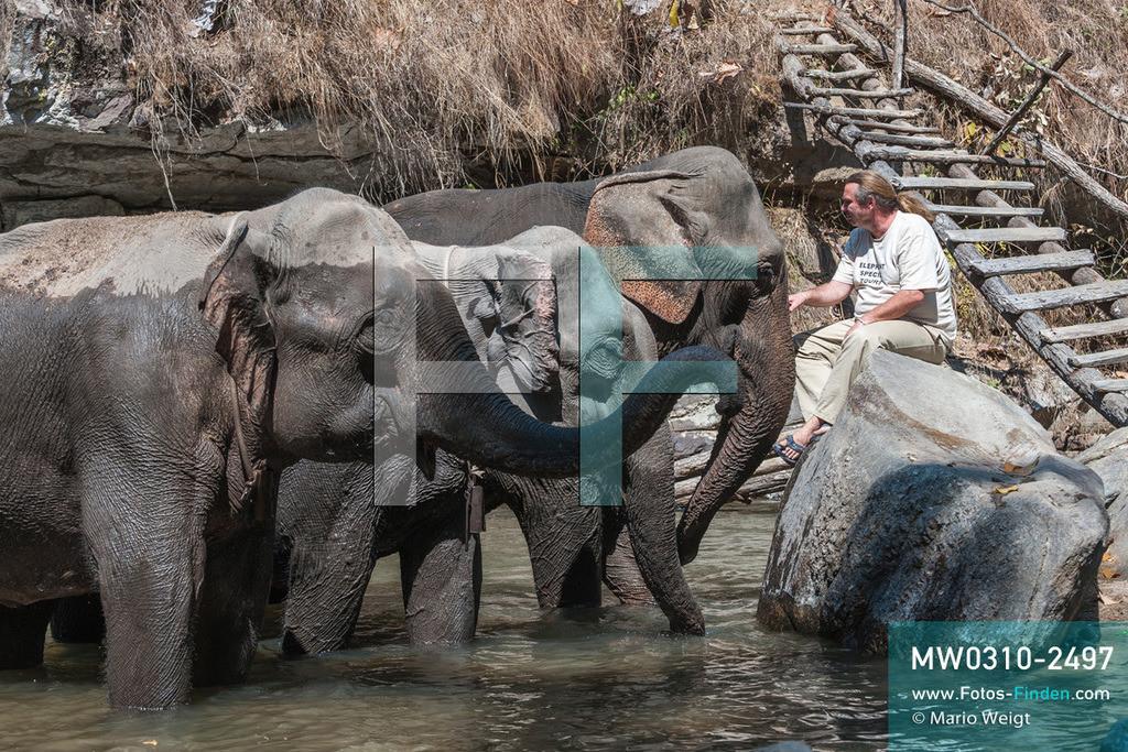 MW0310-2497 | Thailand | Mae Sapok | Bodo Jens Förster | Elephant Special Tours | Februar 2010  ** Feindaten bitte anfragen bei Mario Weigt Photography, info@asia-stories.com **