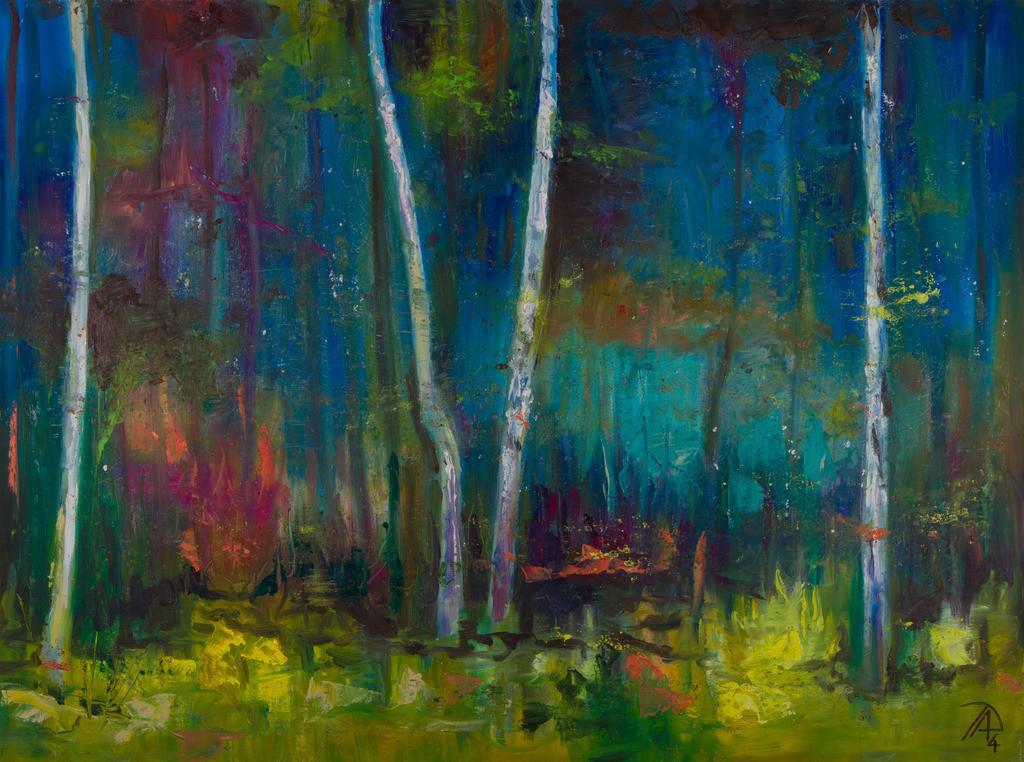 Mystic Wood | Originalformat: 50x70cm  -   Produktionsjahr: 2014