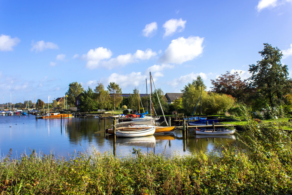 Boote auf der Schlei | Boote auf der Schlei in Arnis