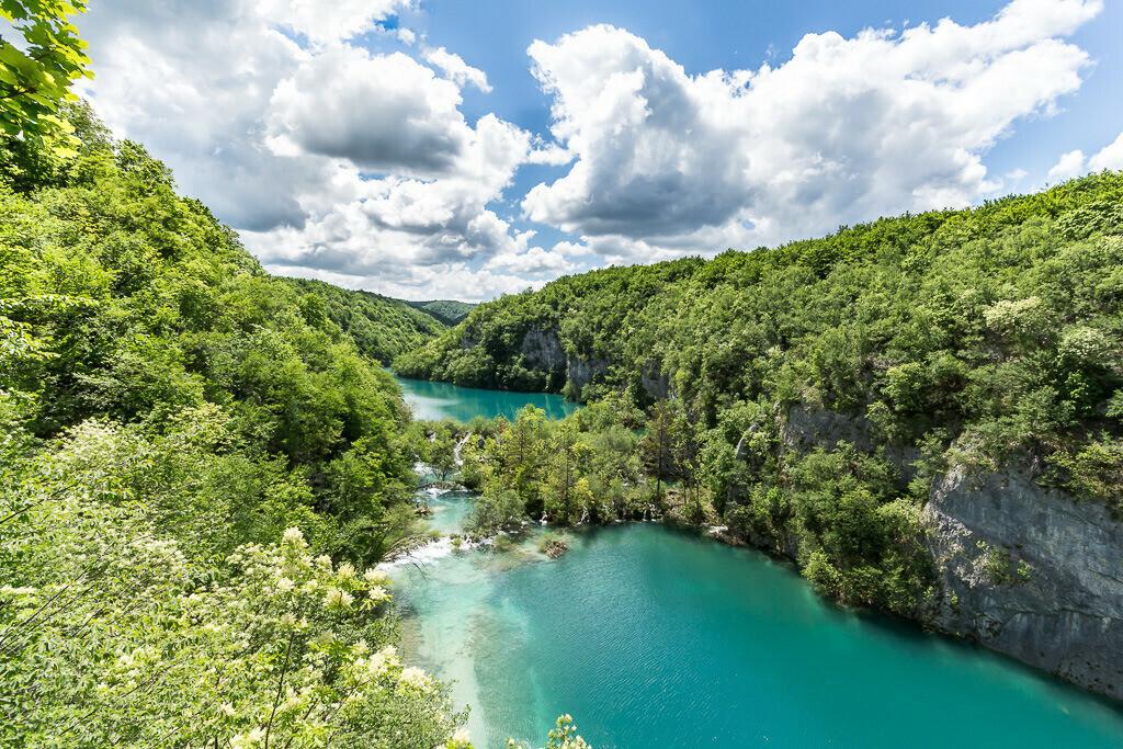 Seen im Nationalpark Plitvice