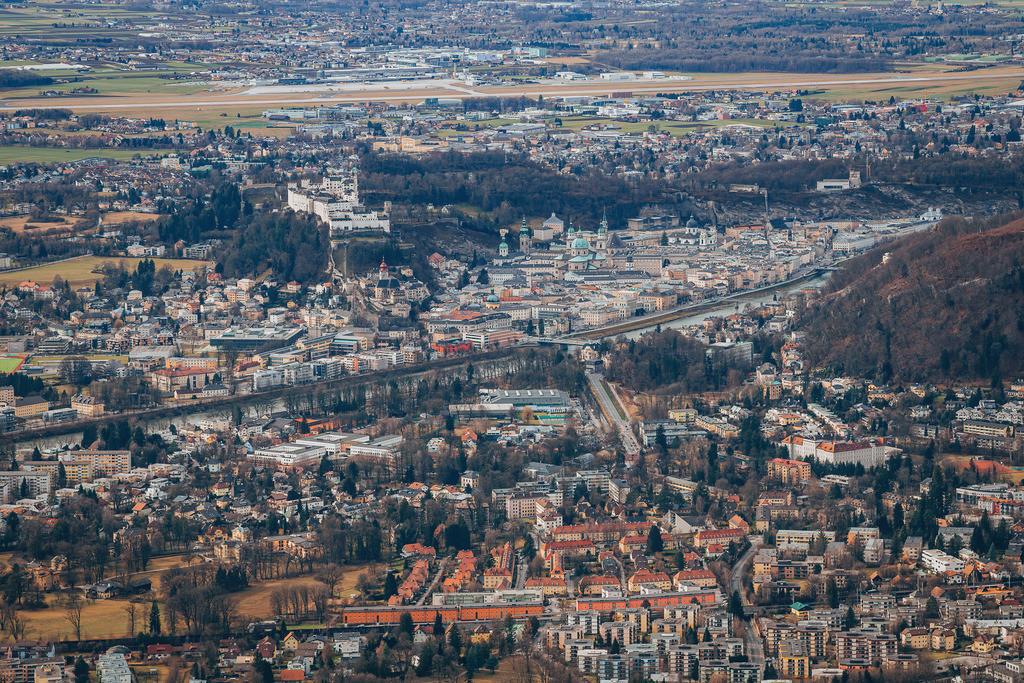 Blick auf die Stadt Salzburg | Blick auf die Stadt Salzburg vom Gaisberg
