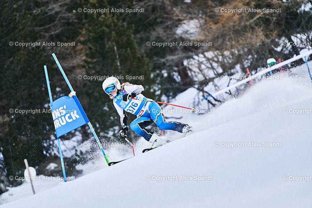 ALS5550_WWMG_GS-II_C | (C) FotoLois.com, Alois Spandl, WinterWorldMastersGames 2020 Innsbruck, Giant Slalom-II Gruppe C Damen, Patscherkofel Olympiaabfahrt, Mi 15. Jänner 2020.