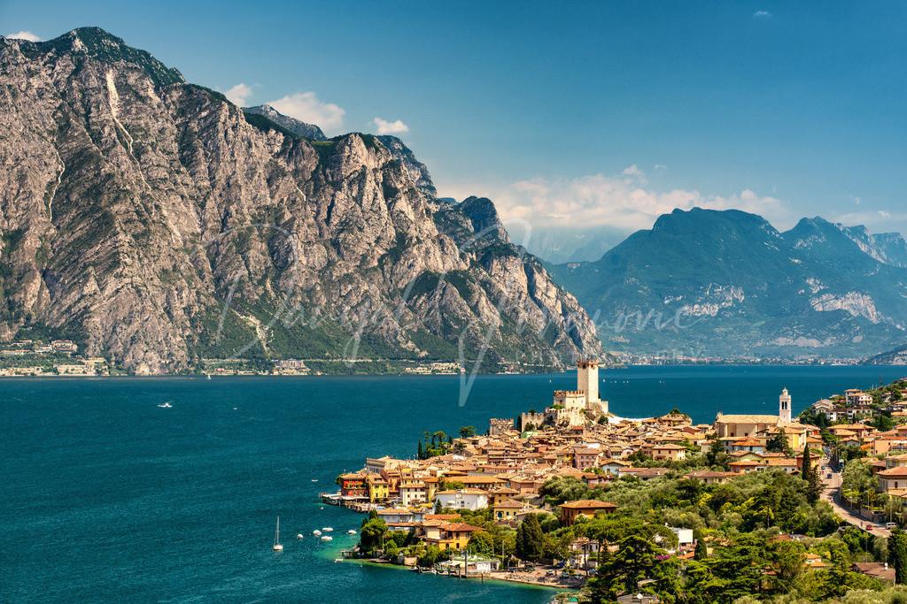 Malcesine | Malcesine sul Garda mit Blick nach Norden