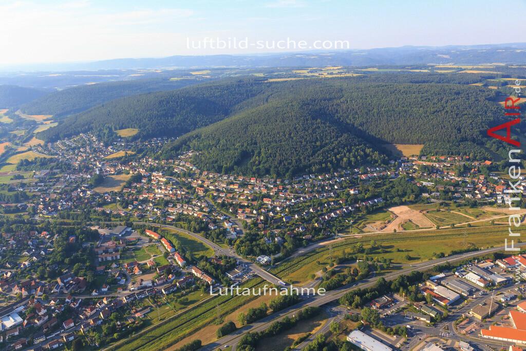 kulmbach-2015-1795 | Luftbild von  Kulmbach - Luftaufnahme wurde 2015 von https://frankenair.de mittels Flugzeug (keine Drohne) erstellt - die Geschenkidee
