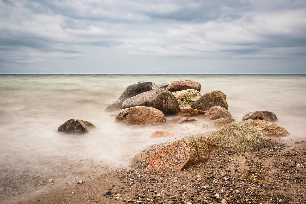Steine an der Küste der Ostsee | Steine an der Küste der Ostsee.