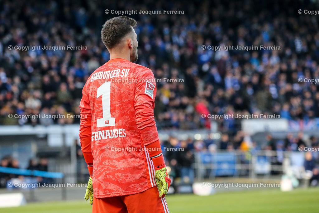 191221svdvshsv_0328 | 21.12.2019 Fussball 2.Bundesliga, SV Darmstadt 98-Hamburger SV emspor, despor  v.l.,  Goalkeeper, Torwart Daniel Heuer Fernandes (Hamburger SV)    (DFL/DFB REGULATIONS PROHIBIT ANY USE OF PHOTOGRAPHS as IMAGE SEQUENCES and/or QUASI-VIDEO)