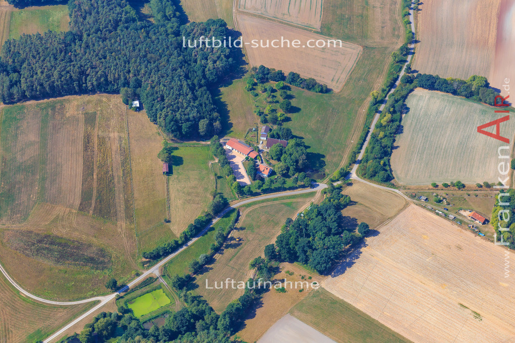 rauschenberg-dachsbach-2016-204   Luftbild von Rauschenberg Dachsbach - Luftaufnahme wurde 2016 von https://frankenair.de mittels Flugzeug (keine Drohne) erstellt - die Geschenkidee