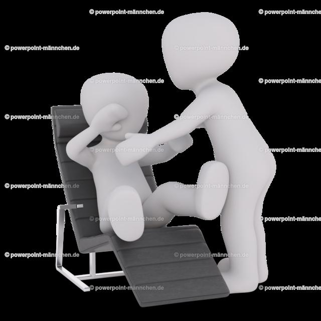 the man helps the patient out of the chair | Quelle: https://3dman.eu   Jetzt 250 Bilder kostenlos sichern