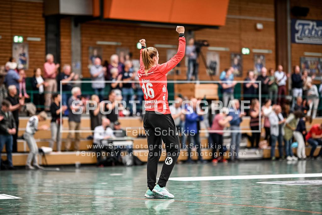Handball I 1. HBF I Buxtehuder SV - TuS Metzingen 19.09.2020_00004 | Lea Ruehter (#16, Buxtehuder Sportverein); 1. HBF I Buxtehuder SV - TuS Metzingen am 19.09.2020 in Buxtehude  (Sporthalle Kurt-Schuhmacher Strasse), Deutschland