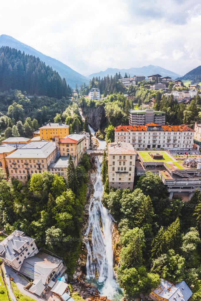 Wasserfall Bad Gastein Salzburg-1