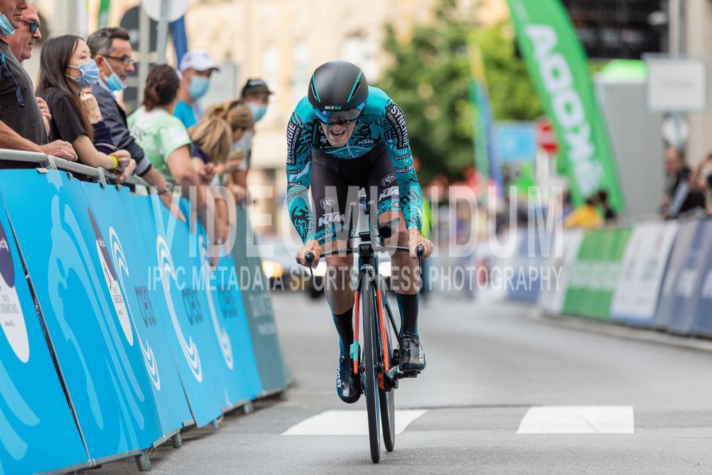 81st Skoda-Tour de Luxembourg 2021 | 81st Skoda-Tour de Luxembourg 2021, Stage 4 ITT Dudelange - Dudelange; Dudelange, 17.09.2021: BONNAMOUR Franck (B&B Hotels p/b KTM, 92)