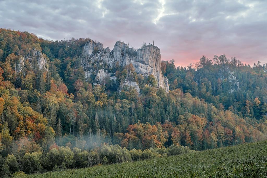 Petersfelsen Beuron, Donautal   Die Serie 'Deutschlands Landschaften' zeigt die schönsten und wildesten deutschen Landschaften.