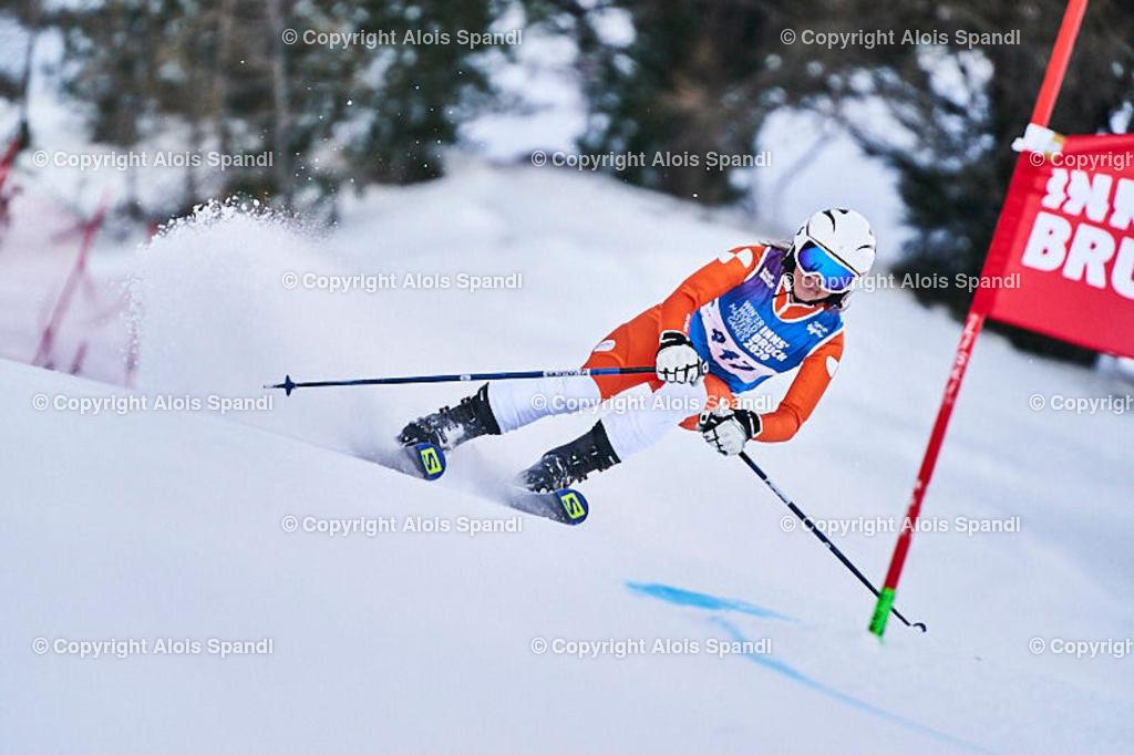 ALS5905_WWMG_GS-II_C | (C) FotoLois.com, Alois Spandl, WinterWorldMastersGames 2020 Innsbruck, Giant Slalom-II Gruppe C Damen, Patscherkofel Olympiaabfahrt, Mi 15. Jänner 2020.