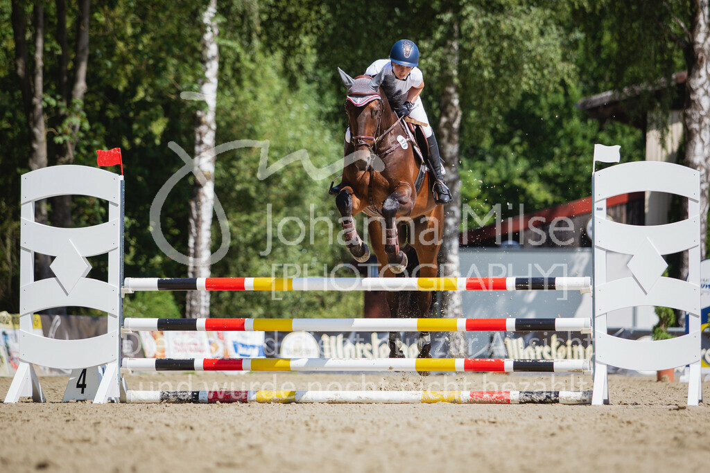 200819_Delbrück_Sprpf-A_2_1-243 | Delbrück Masters 2020 Springpferdeprüfung Kl. A** 4-6jährige Pferde